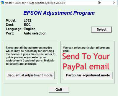 Reset Epson L382-L386-L486 (ECC Version)100%