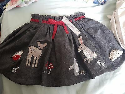 girls 9-12 months next signature skirt bnwt