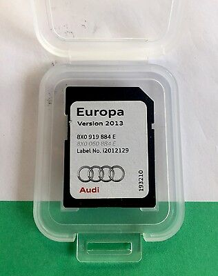 Genuine Audi 2013 Satellite Navigation SAT NAV SD Card Europe 8X0 919 884 E
