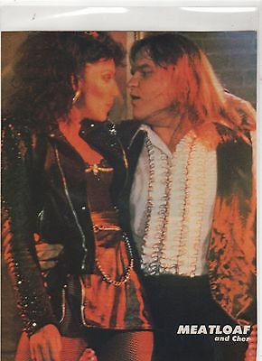 ☆☆ Rare MEAT LOAF AND CHER DEAD RINGER CD  LP POSTER MAGAZINE ADVERT ☆☆ 005