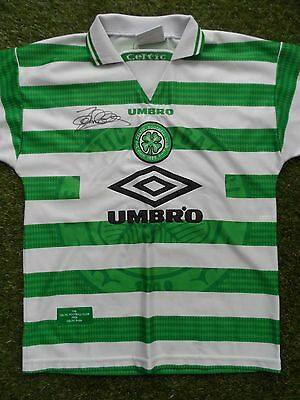 John Collins Hand Signed Celtic Home Football Shirt - COA - Autograph