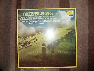 VAUGHAN WILLIAMS - Greensleeves - Vinyl Album.