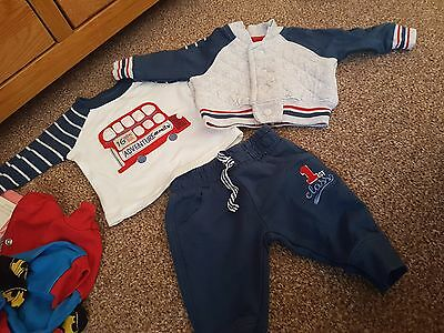 boys 3 piece mothercare tracksuit newborn to 1 month
