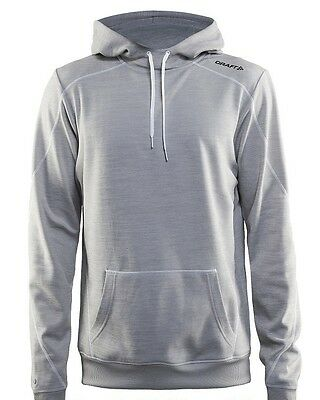 %% CRAFT (statt 80 €). In The Zone Hood. Grey Melange. Hr. Modell 2017. AKTION