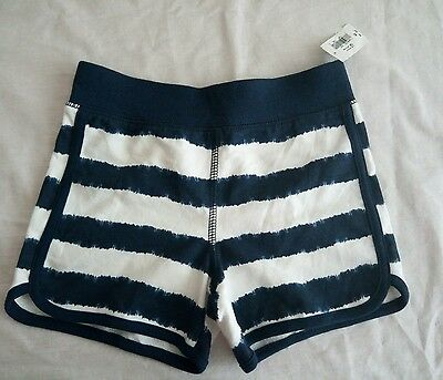 New Boys Old Navy Blue and White Shorts Size 4T