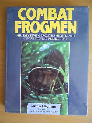 COMBAT FROGMEN MILITARY SCUBA REBREATHERS ETC Diving BOOK HB UDT SBS Seals