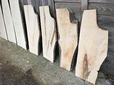 Waney Edge Hardwood Boards Rough Sawn Maple And Cherry