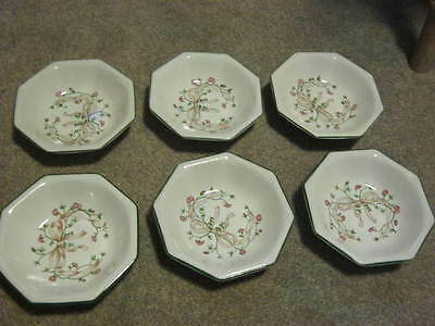 Johnson Brothers Eternal Beau Sweet or Nibbles Dishes x 6