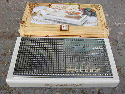 Marks and Spencers Harvest Plate Warmer - boxed