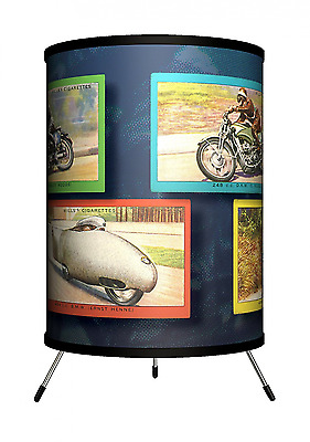 Lamp-In-A-Box TRI-TTN-VMOTO Transportation - Vintage Motorcycles Tripod Lamp