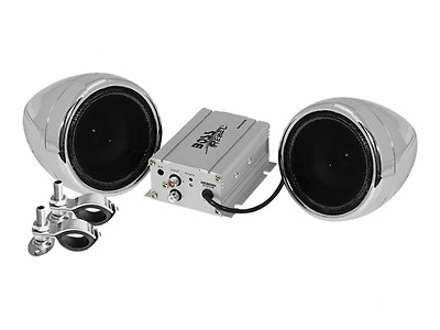 BOSS Audio MC420B Bluetooth Enabled Motorcycle/UTV Speaker and Amplifier System,