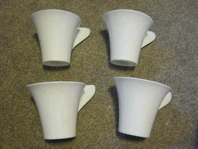 Villeroy and Boch Premium Cups x 4 - 8cm high