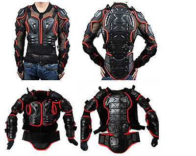 Motorcycle Full Body Armor Protector Pro Street Motocross ATV Guard Shirt Jacket