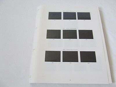 Stanley Gibbons Great Britain 1971-1989 Illustrated 4 Ring Stamp Album Leaves