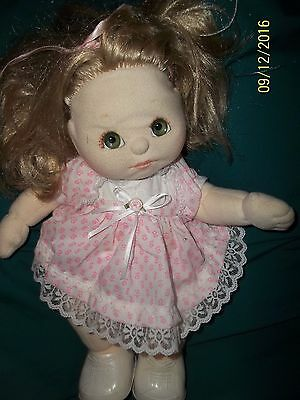 My Child Doll/  2 pc Outfit - Blonde My Child By Mattel 1985 VINTAGE !RARE.