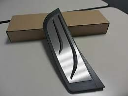 Footrest Stainless Steel Genuine BMW M Performance Manual 51472413361