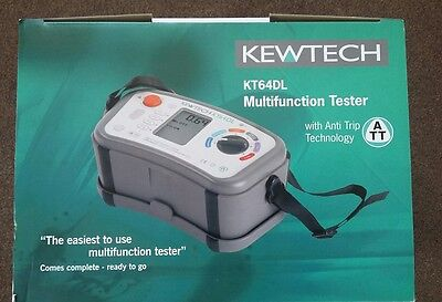 Brand New Kewtech KT 64 DL  multifunction tester = more than 1 available