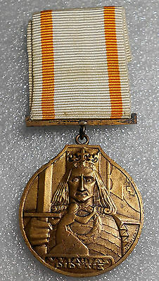 Lithuania Order of Vytautas the Great, bronze medal. 1930-1940 issue. Tarabilda