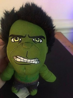 Talking Hulk little soft toy. Avengers/ Marvel