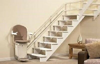 Stannah 260 curved stairlift-reconditioned/used-fitted with 12 month warranty...