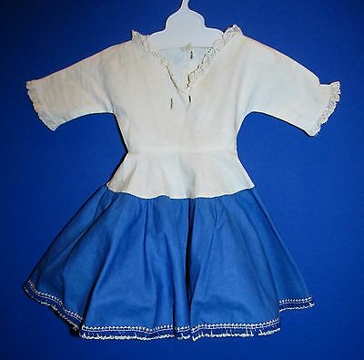1953 American Character Original SWEET SUE Blue and White Dress!