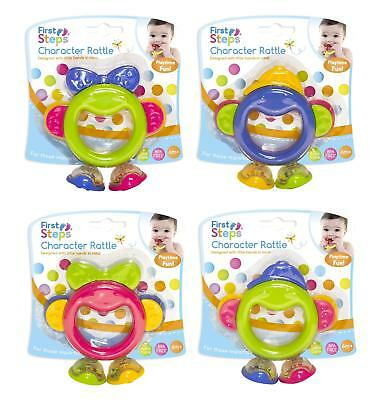 Baby Infant Babies Character Rattle Toy Playtime Nursery Boys And Girls