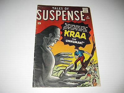 Tales of Suspense #18 (Jun 1961, Marvel)  Vintage Silver Age Scarce