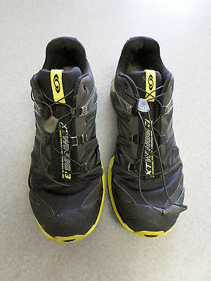 db604656bcd1 discount code for salomon xt wings 3 black yellow trail running shoes. mens  10.5 d82eb