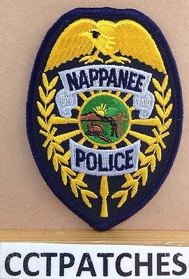 Nappanee, Indiana Police Badge Shoulder Patch In