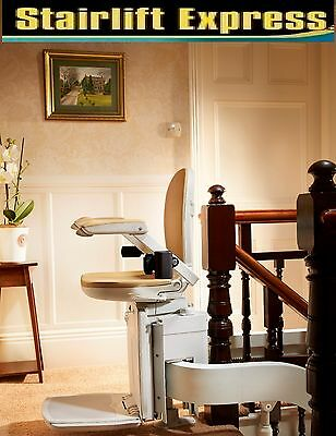 Brand New Brooks Curved Stairlift, fitted with 12 month warranty