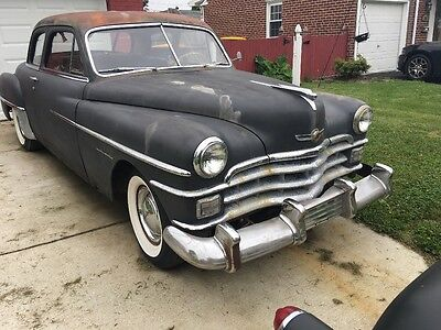 1950 Chrysler Other  1950 Chrysler Windsor 2 door coupe. Rat rod chevy ford dodge Plymouth barn find