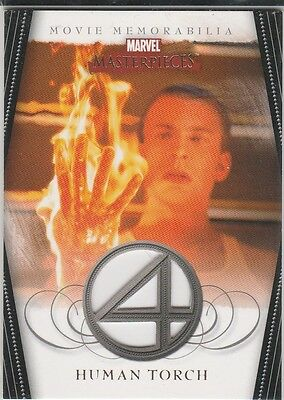 2008 Marvel Masterpieces Series 2 FANTASTIC FOUR Costume Card FF3 Evans ERROR