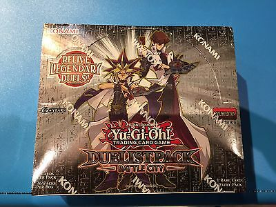 Duelist Pack ( BATTLE CITY ) - 1st Edition Booster Box - Sealed New! - Yu-Gi-Oh!