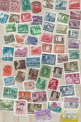 #5068 HUNGARY Lot / Collection Used