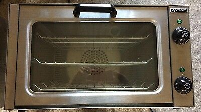 1/4 Sheet Electric Convection Oven Adcraft COQ-1750W #5996 Commercial Bakery NSF