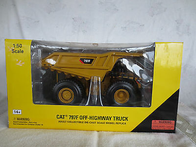 Norscot 1/50 Cat 797F Off-Highway Truck Construction Toy Highly Detailed New!!!
