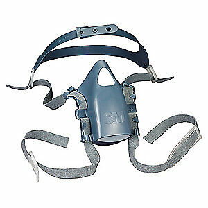 HONEYWELL 773100 Tactical Gas Mask,Large,Mesh Harness