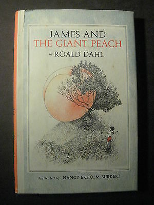 JAMES AND THE GIANT PEACH Roald Dahl Early Printing with dust jacket