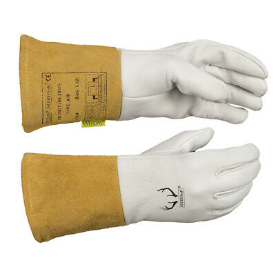 WELDAS DEERSOsoft®, Grain Soft Deerskin, TIG Welding Gloves, HIGH QUALITY