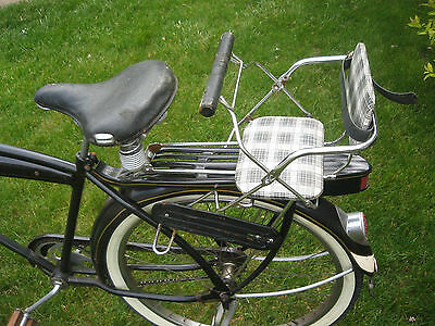 Vtg.~Showa~Child's Bicycle Seat / Carrier