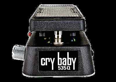 Jim Dunlop 535Q Crybaby Multi Wah Pedal -  Adjustable Boost - Control Your Wah