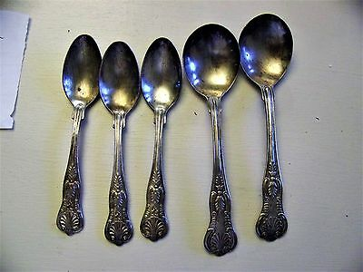 WW2 U.S. Navy Lot of Nautical Spoons (5 Total)