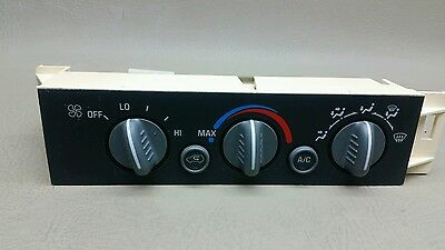1996 2000 Chevy Truck Heater A/c Climate Control Suburban 1500 2500 Tahoe Yukon