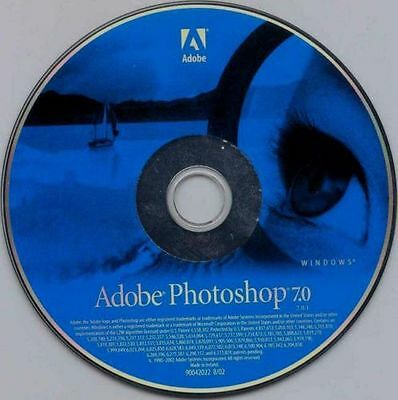 Adobe Photoshop 7 (7.0) - 1 User Full Version for Windows (7.0.1)