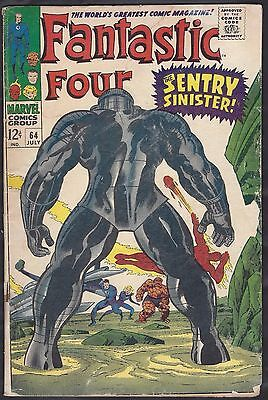 Marvel Comics FANTASTIC FOUR Vol.1, No.64, July 1967