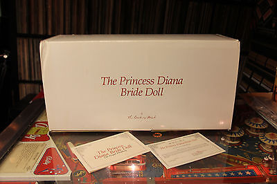 PRINCESS DIANA BRIDE DOLL Danbury Mint New Never Removed From Box