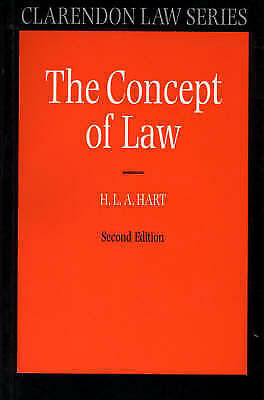The Concept of Law by H. L. A. Hart (Paperback, 1997)