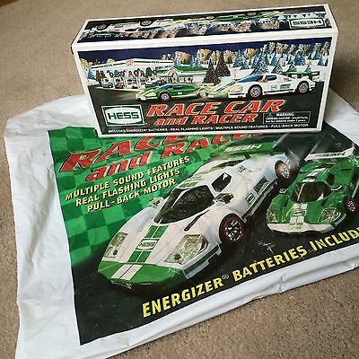 Brand New Hess 2009 Race Car And Racers  In Original Box With Hess Bag