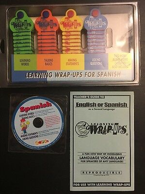 Learning Wrap‑ups SPANISH Introductory Kit with Audio CD
