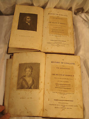 1810 The History Of England By T.smollett,vol 1 & 2